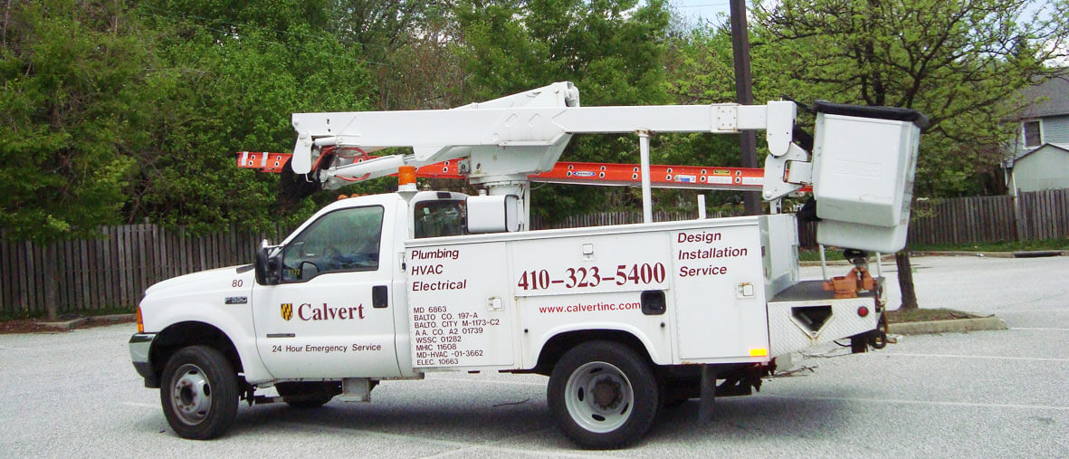 Calvert Bucket Truck